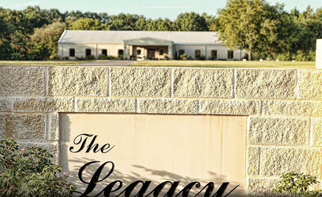Looking For An East Texas Event Venue The Legacy