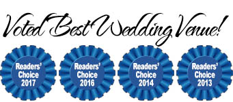 Voted Best Wedding Venue