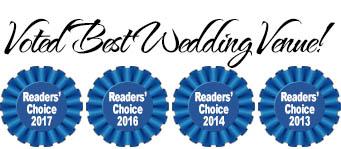 Voted Best Wedding Venue